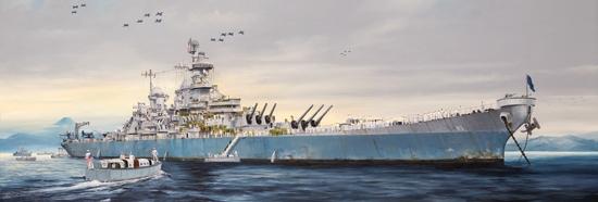 1/200 USS MISSOURI BB-63
