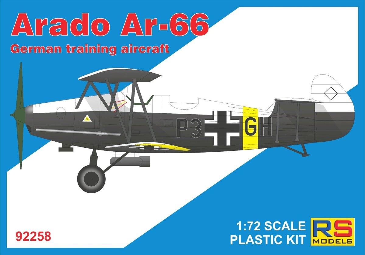 1/72 Arado 66 4 decal v. for Luftwaffe