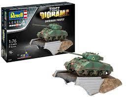 1/76 First Diorama Set - Sherman Firefly
