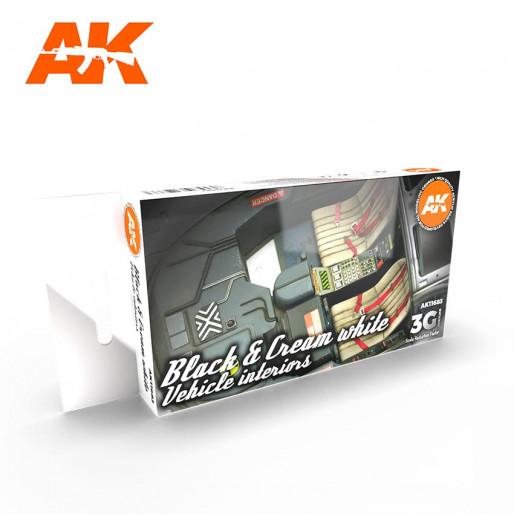 AK NBLACK INTERIOR AND CREAM WHITE
