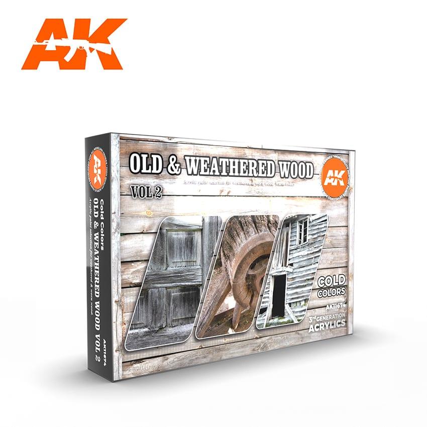 AK OLD INTERIOR AND CREAM WHITE