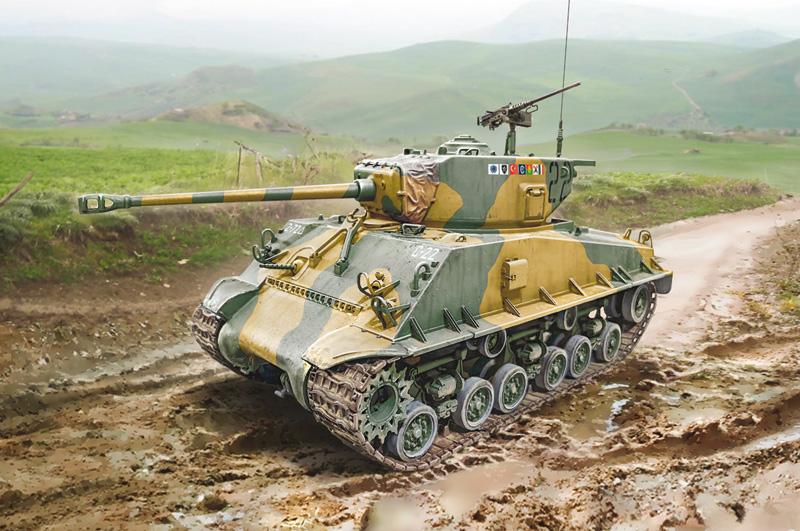 1/35 M4A3E8 Sherman