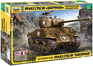 1/35 US Medium Tank M4A3 (76) W