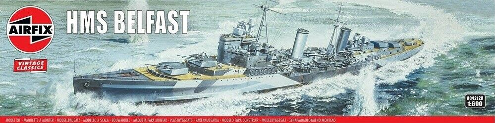 1/600 VINTAGE CLASSIC: HMS Belfast