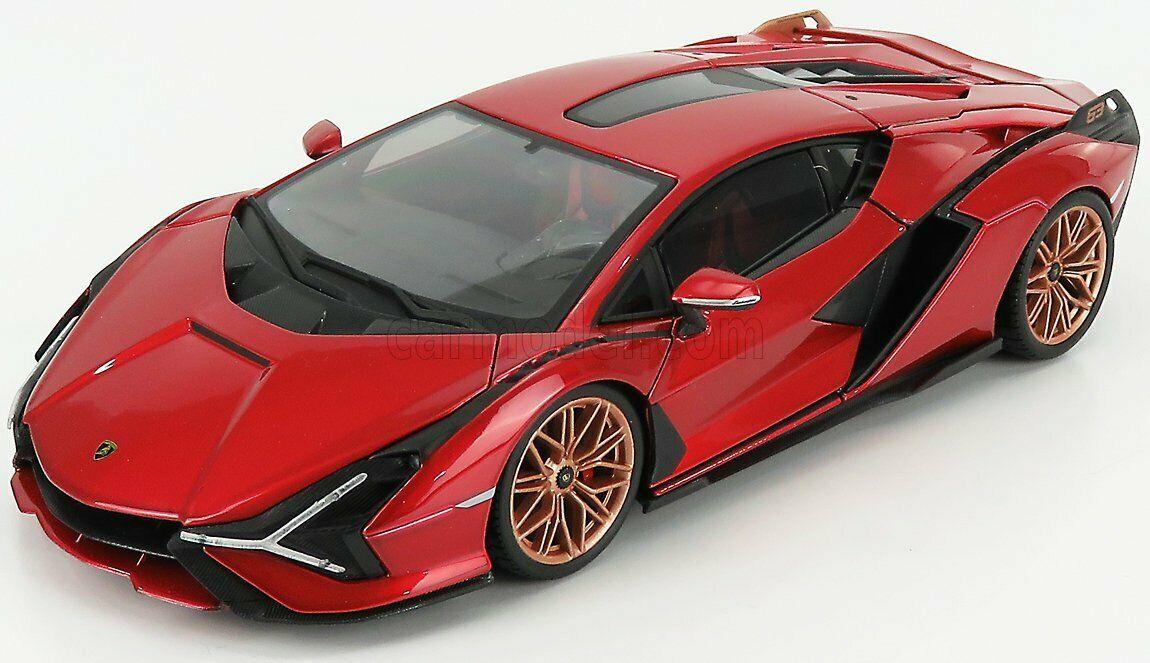 1/18 Lamborghini Siam FKP 37 - red