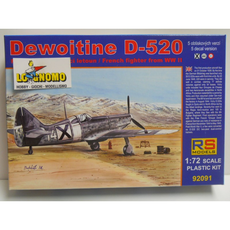 1/72 Dewoitine D-520 Bulgaria 5 decal v. for Bulgaria, Italy