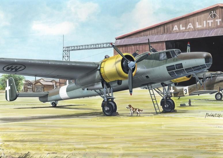 1/72 Dornier 17 Ka 2 3 decal v. for Yugoslavia, Italy, Bulg