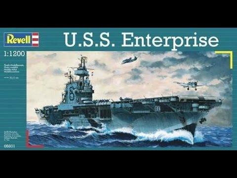 1/1200 U.S.S. ENTERPRISE
