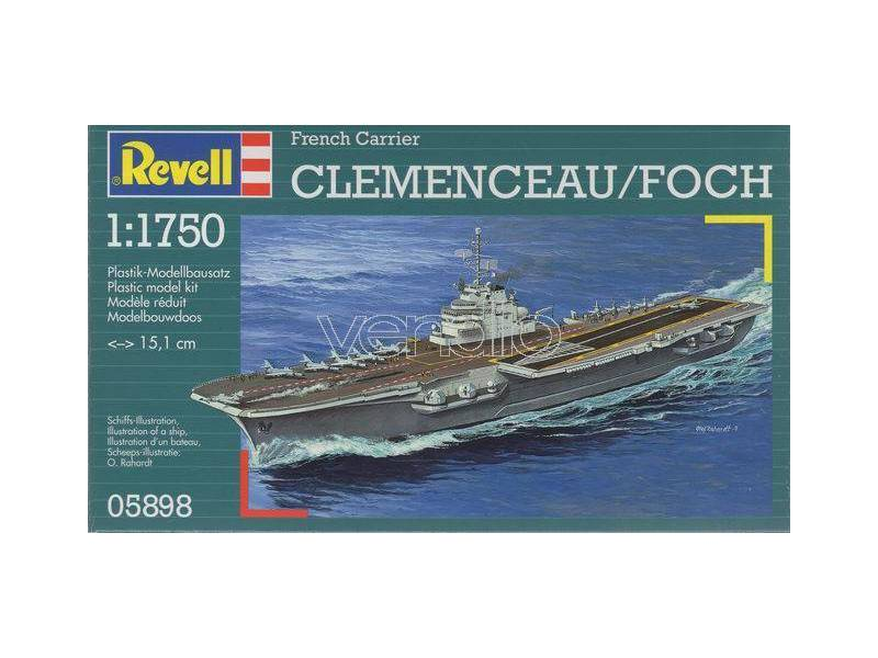 1/1750 FRENCH CARRIER CLEMENCEAU/FOCH