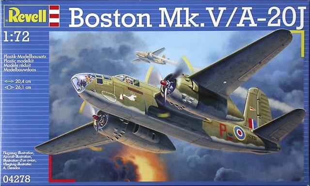 1/72 A-20 BOSTON MK V/A-20J