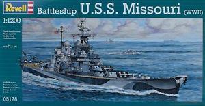 1/1200 U.S.S. MISSOURI