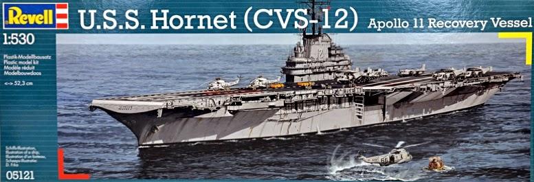 1/530 USS HORNET APOLLO 11 SOTTOMARINO