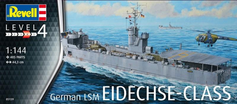 1/144 EIDECHSE CLASS GERMAN ISM