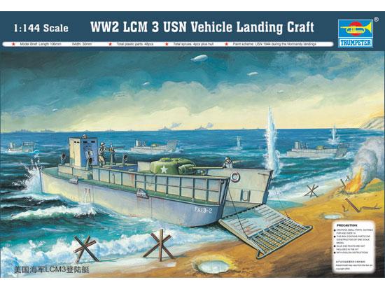 1/144 LCM 3 50 LANDING CRAFT