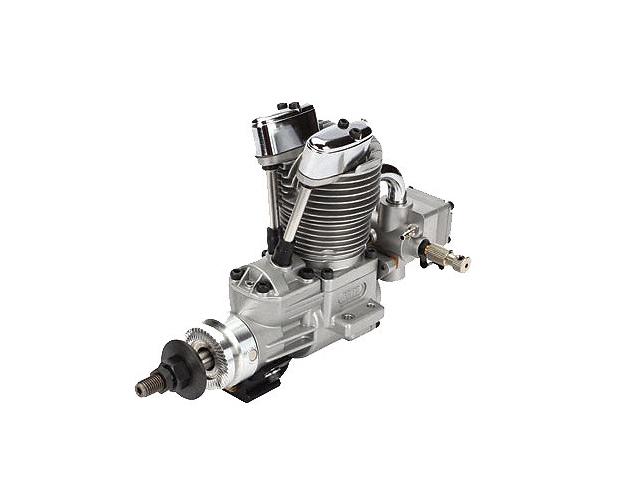 SAITO FG-14C Gasoline Engine (4Tempi Benzina) con centralina, castello motore in alluminio e silenziatore