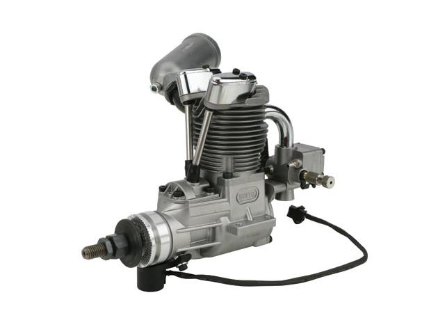 SAITO FG-20 Gasoline Engine (4Tempi Benzina) con centralina e silenziatore