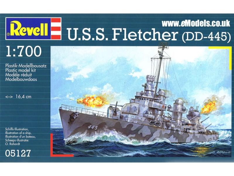 1:700 U.S.S. FLETCHER DD-445