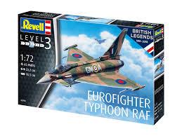 1/72 100 YEARS RAF  EUROFIGHTER TYPHOON RAF