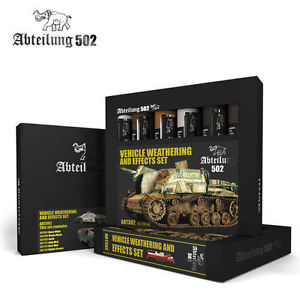 ABTEILUNG VEHICLE WEATHERING AND EFFECTS SET