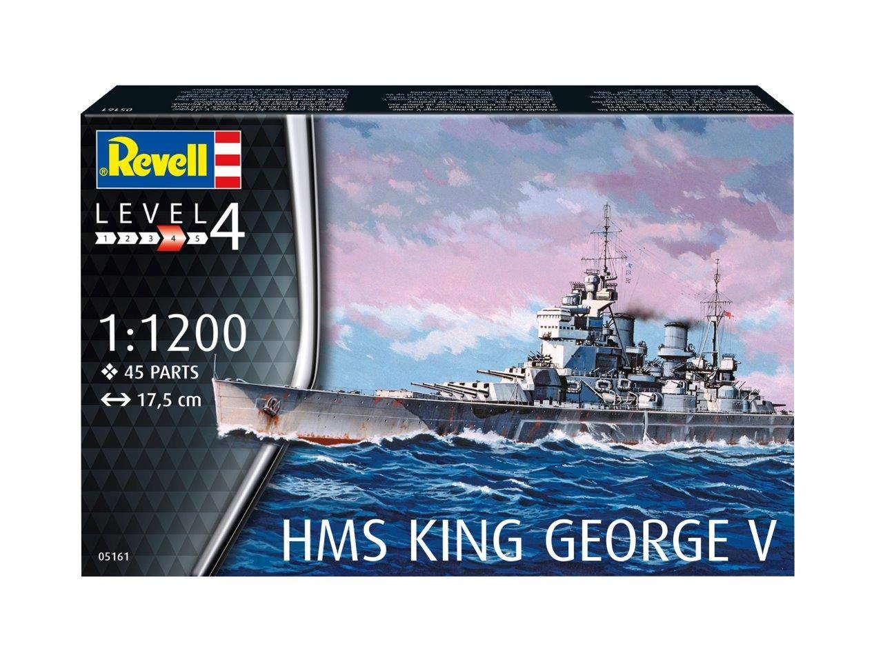 1/1200 HMS KING GEORGE V