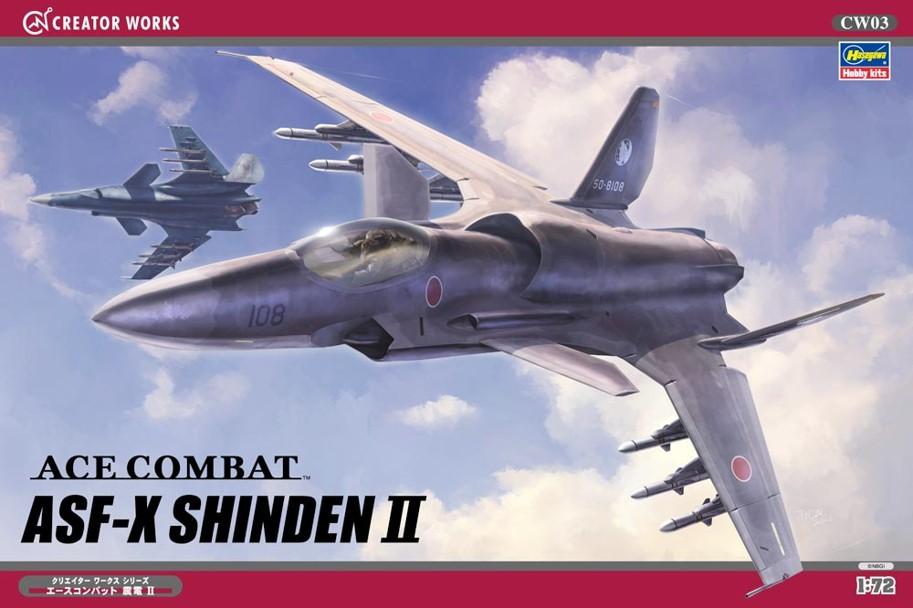 1/72 Ace Combat ASF-X Shinden II