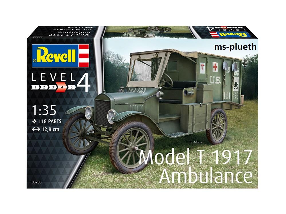 1/35BMODEL T 1917 AMBULANCE