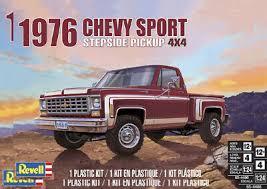 1/24 1976 CHEVY SPORTS STEPSIDE PICKUP 4X4