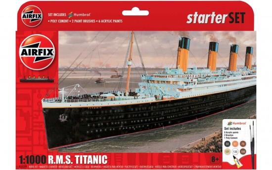 1/1000 STARTER KIT TITANIC