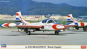 1/72 A-37B DRAGOFLY BLACK EAGLES 2 KIT LIMITED EDITION