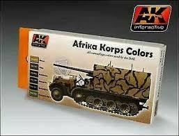 AK AFRIKA KORPS COLOR SET